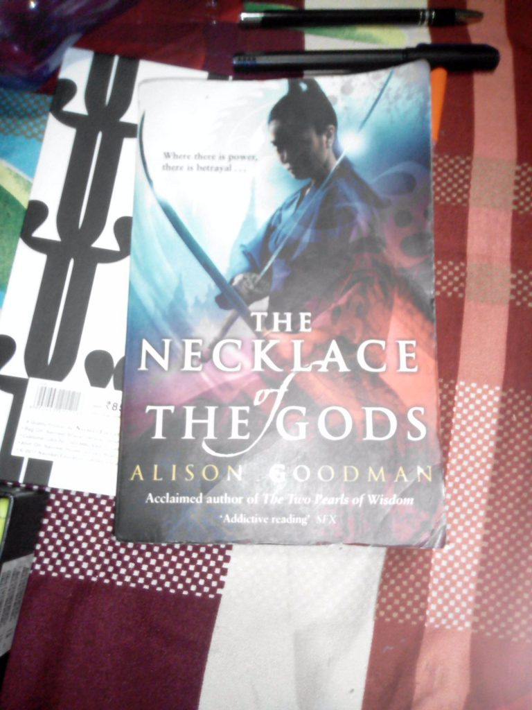 Book-review: The Necklace Of The Gods