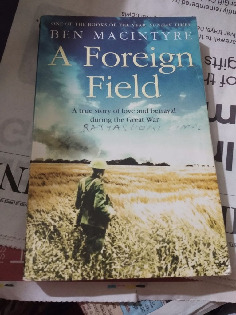 Book review : A Foreign Field